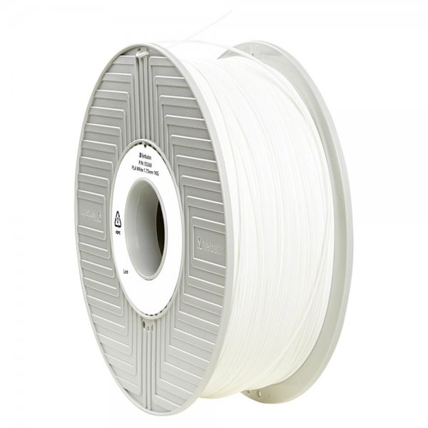 Verbatim 3D Printer Filament PLA 1,75 mm 1 kg weiß / white