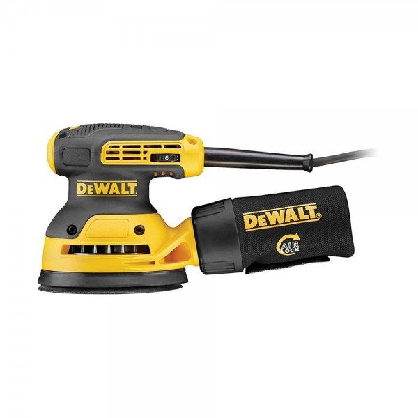 Dewalt DWE6423-QS Exzenterschleifer 125 mm 280 Watt 230 V Schwingschleifer