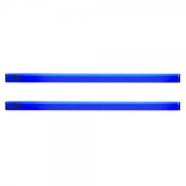 Cooler Master | 2x Universal LED-Streifen Blau PC Gehäuse Case Zubehörteil magnetisch