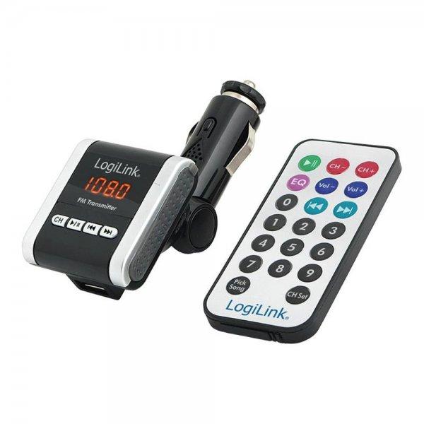 Logilink FM Transmitter mit MP3 Player UKW-Sender/SD