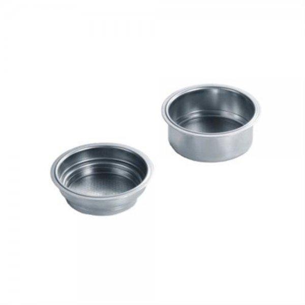 Graef 145722 Siebeinsätze einwandig Ø 60 mm für Siebträger-Espresso ES80/ES81 Edelstahl
