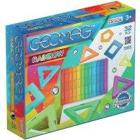Geomag Classic Rainbow 32 Teile Magnetbausteine Magnetisches Konstruktionsspielzeug ab 3 Jahren