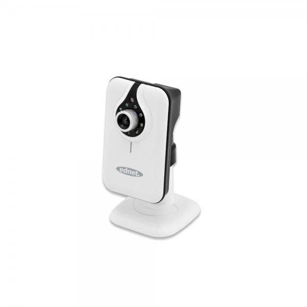 ednet CUBE Kabellose IP-Kamera Indoor MJPEG IR LED Farbsensor Bewegungserkennung