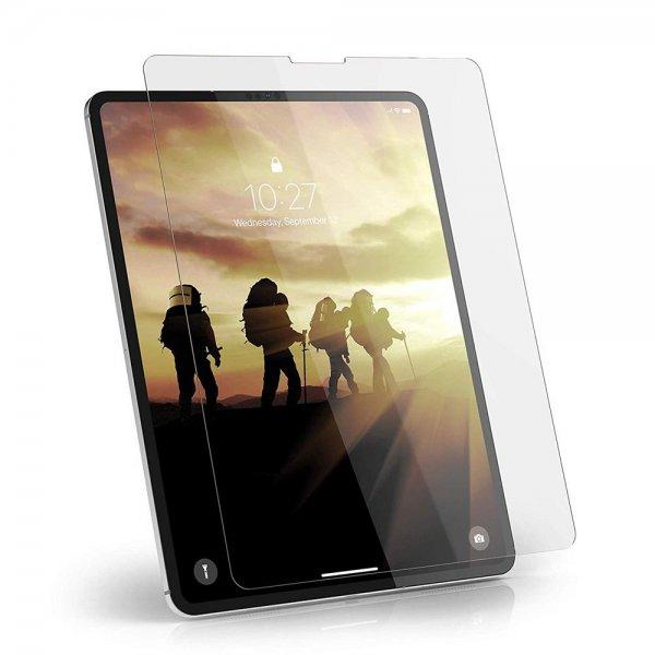 """Urban Armor Gear Tempered Glass Displayschutzfolie für Apple iPad Pro 12,9"""" (2018) 9H Härtegrad, Ant"""