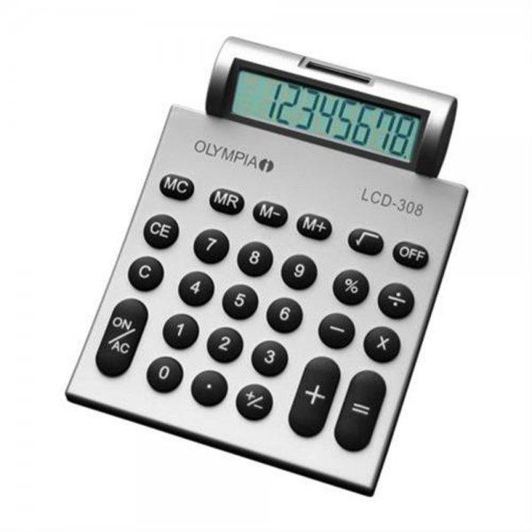 Olympia LCD-308 Tischrechner 8-stelliges Display #941911007