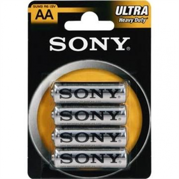 Sony Ultra SUM3NUB4A - Batterie 4 x AA Typ Kohlenstoff