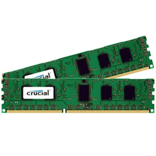 Crucial 8 GB DDR3-RAM PC1600 VALUE CL11 2X4GB [1.35V/1.