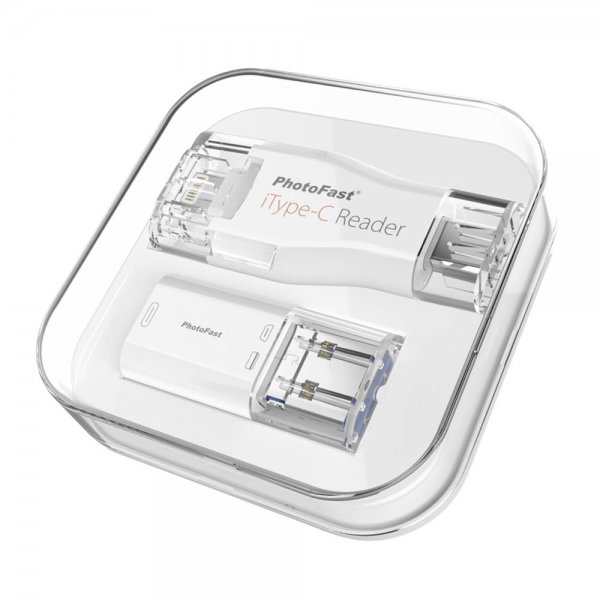 PhotoFast iTypeC Reader USB-C/USB-A/Lightning/microUSB Kartenlesegerät microSD