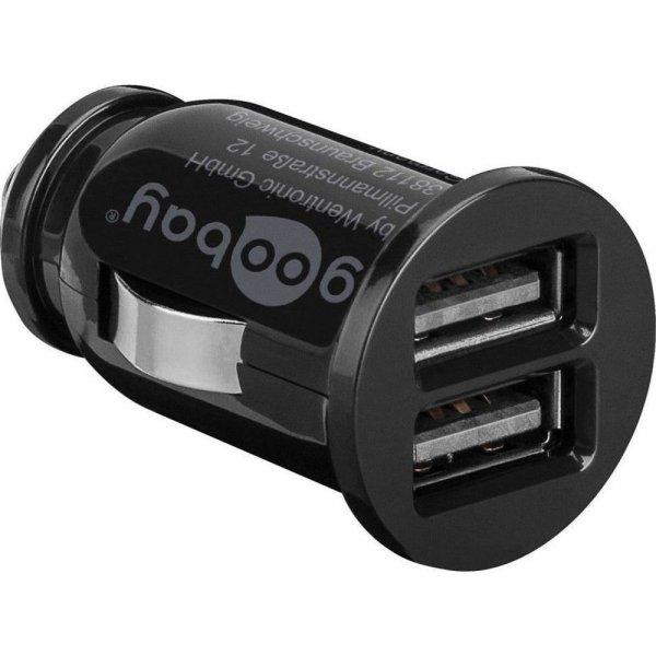 Goobay Dual USB-Autoladegerät 3,1 A Zigarettenanzünder