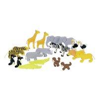 Goki Tierset Afrika 1er Set, 1 Paar Spielzeug, Holzspielzeug, Spielfiguren, NEU