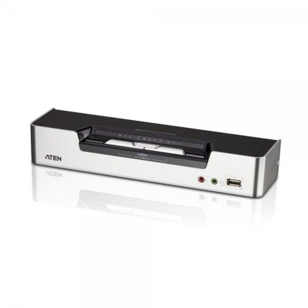 ATEN #CS1642A USB-KVMP™-Switch mit 2 Ports für zwei DVI-Monitore