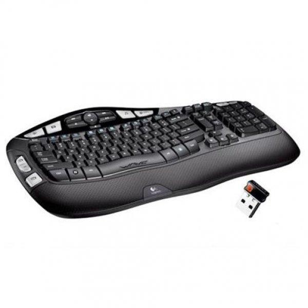 Logitech Wireless Keyboard K350 Tastatur drahtlos OEM