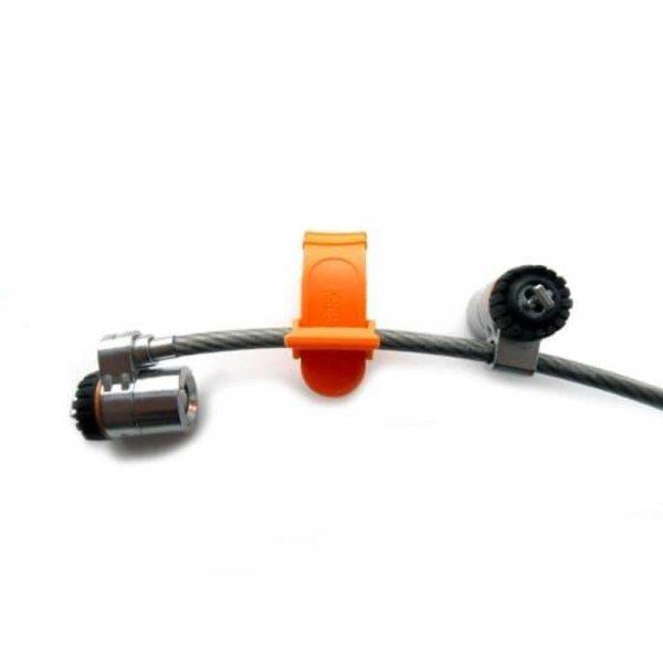 Kensington MicroSaver® Twin-Notebookschloss mit Schlüssel Kabelschloss
