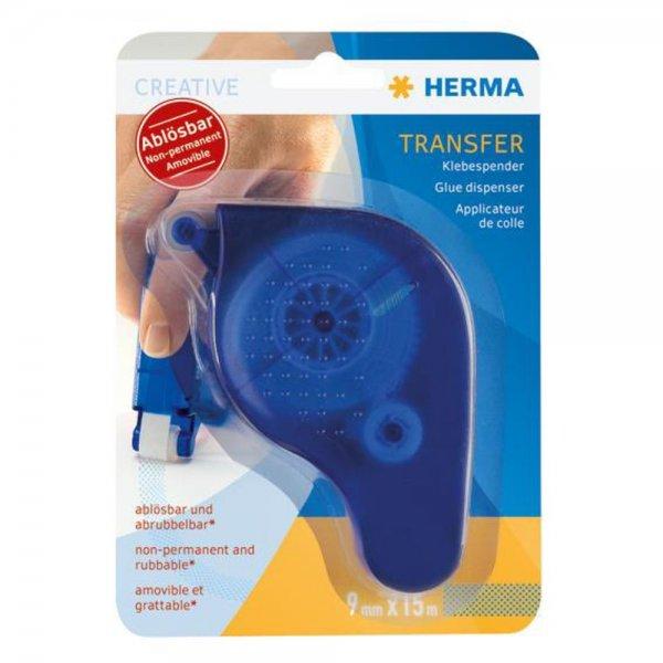 Herma transfer Klebespender ablösbar, blau 1067