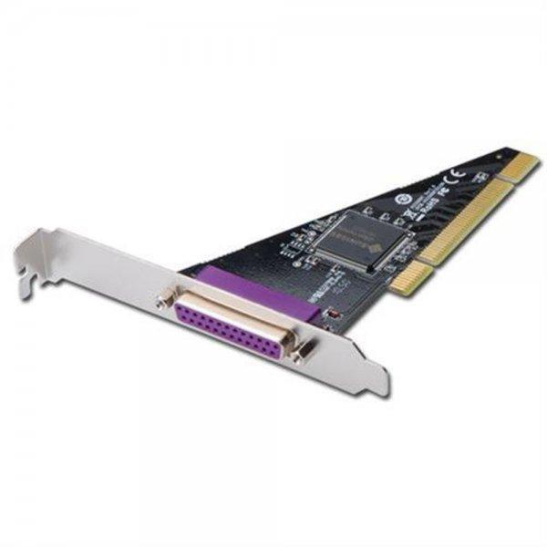 DIGITUS Parallele Schnittstellenkarte PCI Parallel DSUB25 LTP Drucker Port