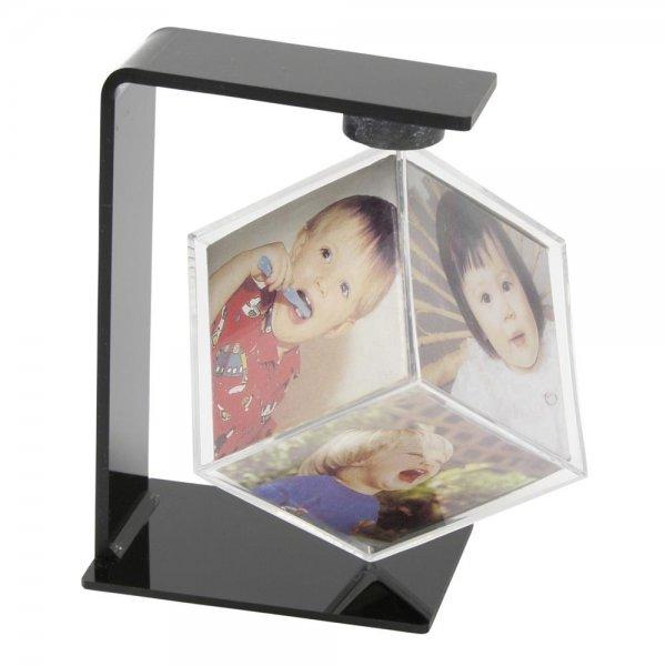 Deknudt drehbarer Fotowürfel Kunststoff 6x6x6