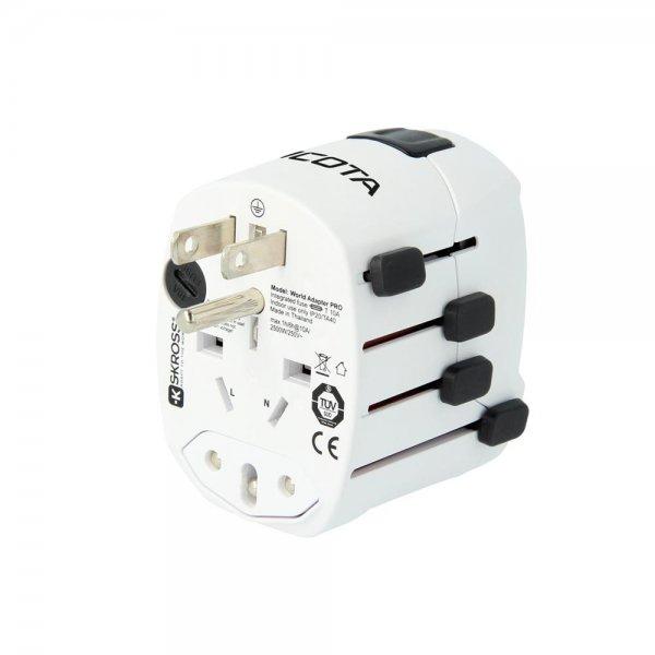 Dicota D31282 World Adapter PRO & USB Reiseadapter Stec