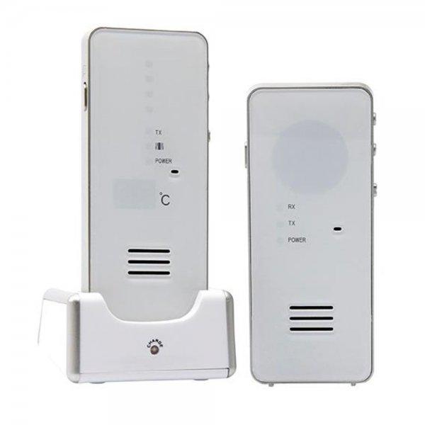 H+H MBF 8181 Babyruf Babyfon bis 500m Temperaturanzeige Strahlungsarm Nachtlicht