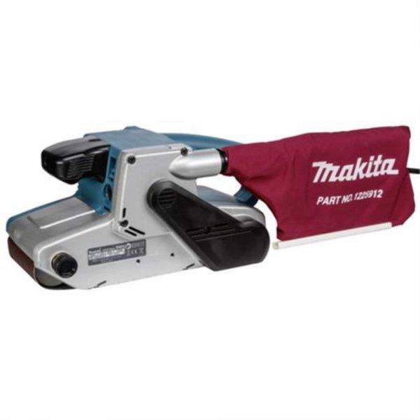Makita 9404J Profi-Bandschleifer mit Staubfangbeutel Lieferung im MAKPAC Koffer