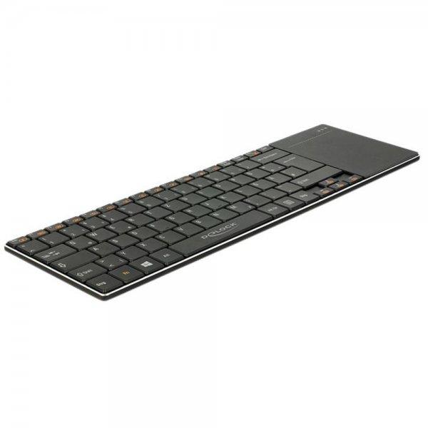 Delock Funktastatur für Smart TV und Windows PCs mit T