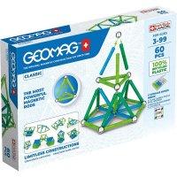 Geomag Classic 60 Teile Magnetbausteine Magnetisches Konstruktionsspielzeug ab 3 Jahren