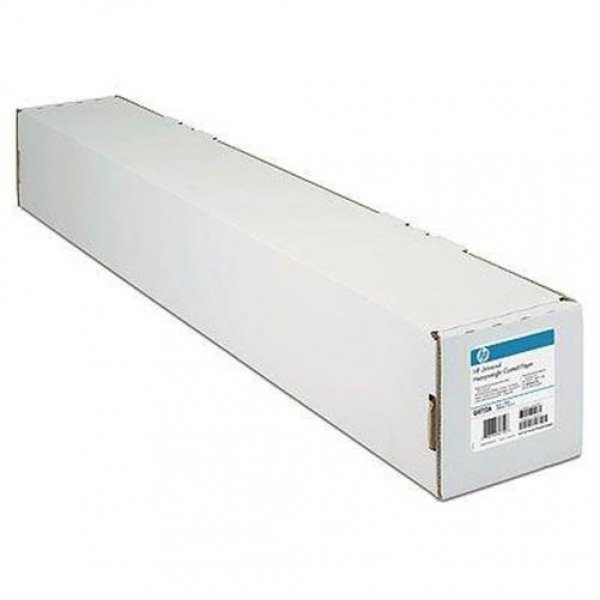 HP Papier bright weiss 24Zoll 45m Rolle # C6035A