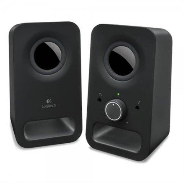 Logitech Z150 Aktivbox Lautsprecher Midnight schwarz