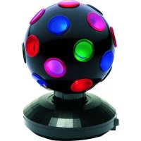 IOIO MLB 16 Mini Disco Kugel Magic Light Licht Ball 15W 11,8cm mehrfarbig Lichtkugel Lichter #90039