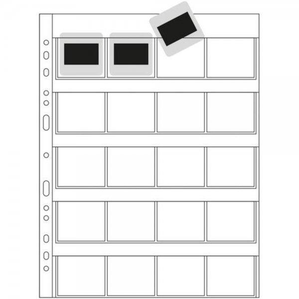 Herma Diahüllen 5x5 100 Blatt klar/matt 7699