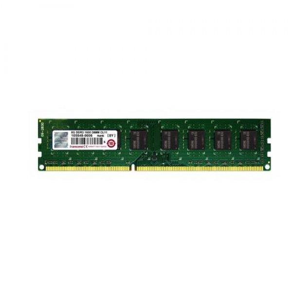 Transcend 8GB DDR3 1600MHz ECC-DIMM 11-11-11 2Rx8 8GB DDR3 1600MHz ECC Speichermodul