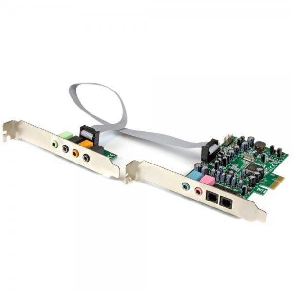 StarTech.com 7.1 Kanal PCI Express Soundkarte - 24-bit - 192KHz