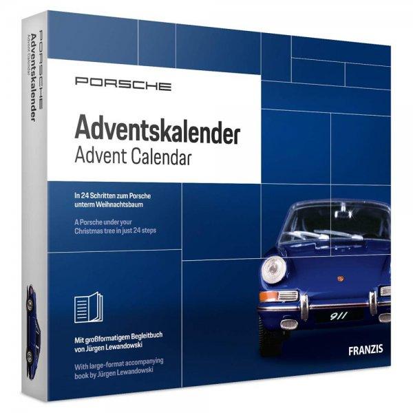 FRANZIS Porsche Adventskalender 2019 | In 24 Schritten zum Porsche unterm Weihnachtsbaum | Neue über
