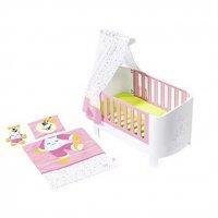 Zapf Creation BABY Born Magisches Himmelbett Traum Puppenwiege Puppenhimmelbett Puppen Bett Set