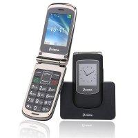 Olympia Style View Großtasten-Mobiltelefon Schwarz Farb-LCD-Display Grosstastenhandy Seniorenhandy