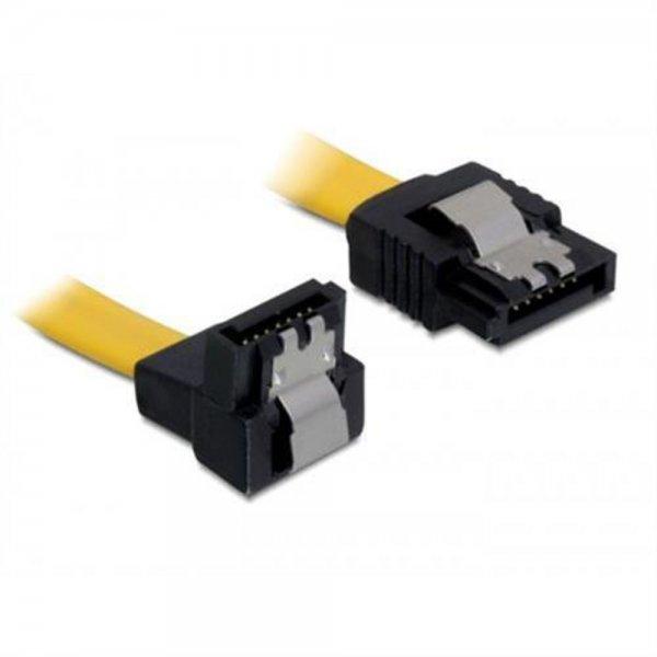 Diverse Kabel SATA 6Gb/s 50cm gelb un/ge Metall
