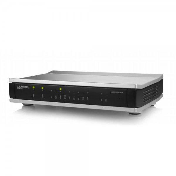 Lancom Systems 884 VoIP Eingebauter Ethernet-Anschluss VDSL2 Schwarz, Silber