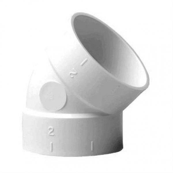 Nilfisk Original 42000249 Abschlussbiegung / Winkel 45° für Supreme weiß