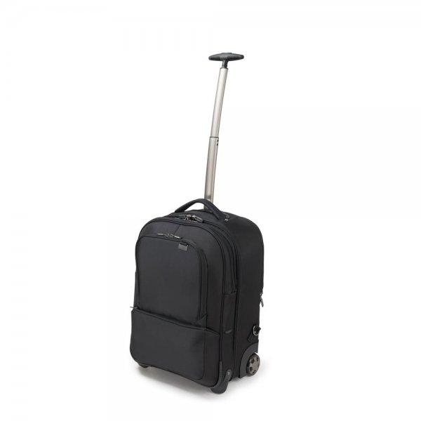 "Dicota Backpack Roller PRO 15 43,9 cm 17,3"" schwarz Notebook Trolley Rucksack Laptop"