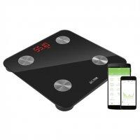 ACME SC101 Intelligente Waage Körperfettmessung BMI BMR APP Bluetooth schwarz