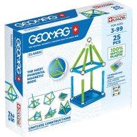 Geomag Classic 25 Teile Magnetbausteine Magnetisches Konstruktionsspielzeug ab 3 Jahren