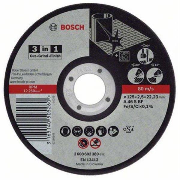 Bosch Trennscheibe 3in1 125mm | 2608602389