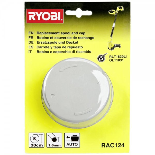 Ryobi RAC 124 Fadenspule 1,6mm passend für RLT 1825/30 Li