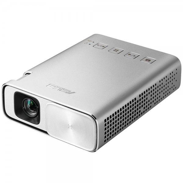 ASUS ZenBeam E1 150ANSI Lumen DLP WVGA (854x480) Portable projector Silber