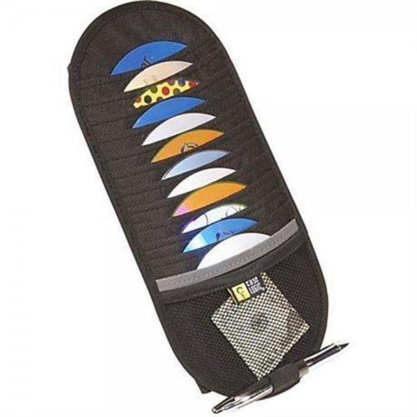 Case Logic CD Visor CDV12 CD DVD Tasche Halterung Sonnenblende schwarz Zubehör