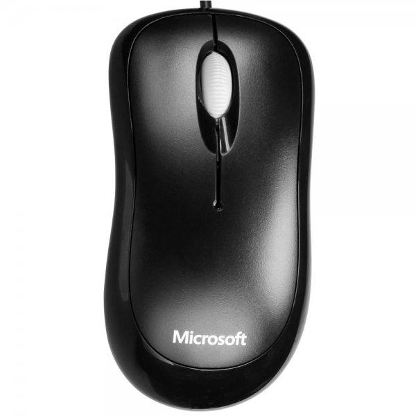 Microsoft MS BASIC OPTICAL MOUSE BK WIN8 U - Maus # P58-00057