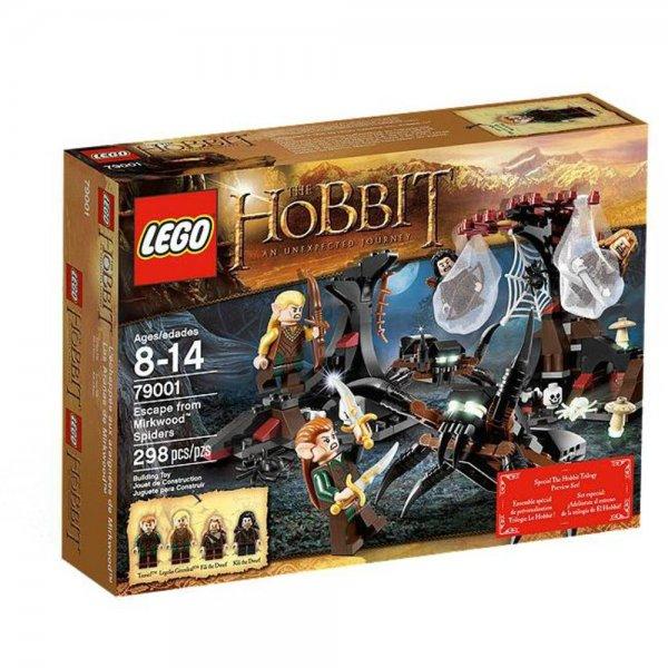 Lego 79001 - The Hobbit Flucht vor den Mirkwood Spinnen