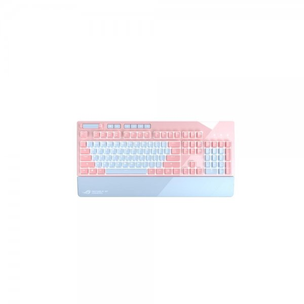 ASUS ROG Strix Flare PNK LTD Gaming Tastatur Pink-Edition Girlpower