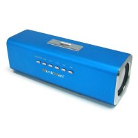 Musicman Stereo Lautsprecher MP3 Player Soundstation USB Slot MICRO SD Slot