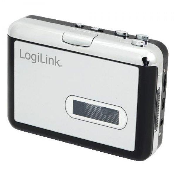 LogiLink UA0156 Kassetten Digitalisierer Player Converter mit USB Anschluss