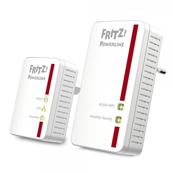 AVM FRITZ!Powerline 540E / 510E Set WLAN Access Point LAN PowerLAN Kit